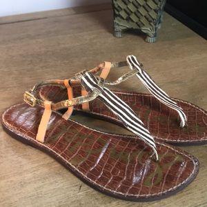 Sam Edelman Zebra Sandals
